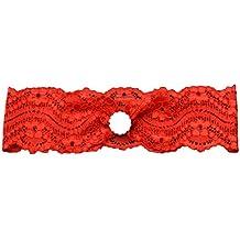 Cdet Diadema cordón elástico rosa cinturón de incrustaciones accesorios de  vestir para mujer c44b57d68b1b