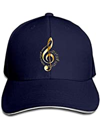 Xukmefat Sandwich Baseball Caps Unisex Adjustable Trucker Style Hat Music  Note 8 PK931 18753027c3a