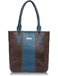 Fantosy Brown And Blue Women Shoulder Bag (brown And Blue) (FNb-797)