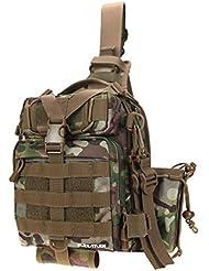 RUNATURE Sling Mochila Molle Tactical Militar de Hombre Mochilas Táctica Combate Militares Ligera Impermeable Bolsa Tactico