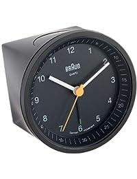 Braun Clock, Black, 8 x 8 x 6.5 cm