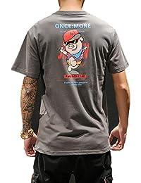 ca91fc949301 zhenzhou Style Japonais t-Shirt imprimé pour Les Hommes d été ...