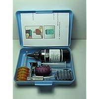 INCHIOSTRO compatibile PER RICARICA CARTUCCE STAMPANTI hp 301 + rafill clip KIT 184 ML