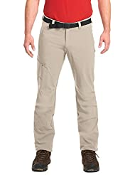 Maier Sports Herren Wanderhose NIL / Trekkinghose / Funktionshose / Tourenhose, Roll Up, Grau (feather gray), 60, 132001