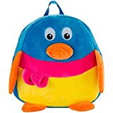 Blue Tree School Bag For Kids/Girls/Boys/Children Plush Soft Bag Backpack Cartoon Bag Gift For Kids Duck Cartoon Toy Cute Birthday Return Gift/ School Bag/ Travelling Carry Picnic Bag/ Teddy Bag For Children (Multi Color_3 To 5 Year)