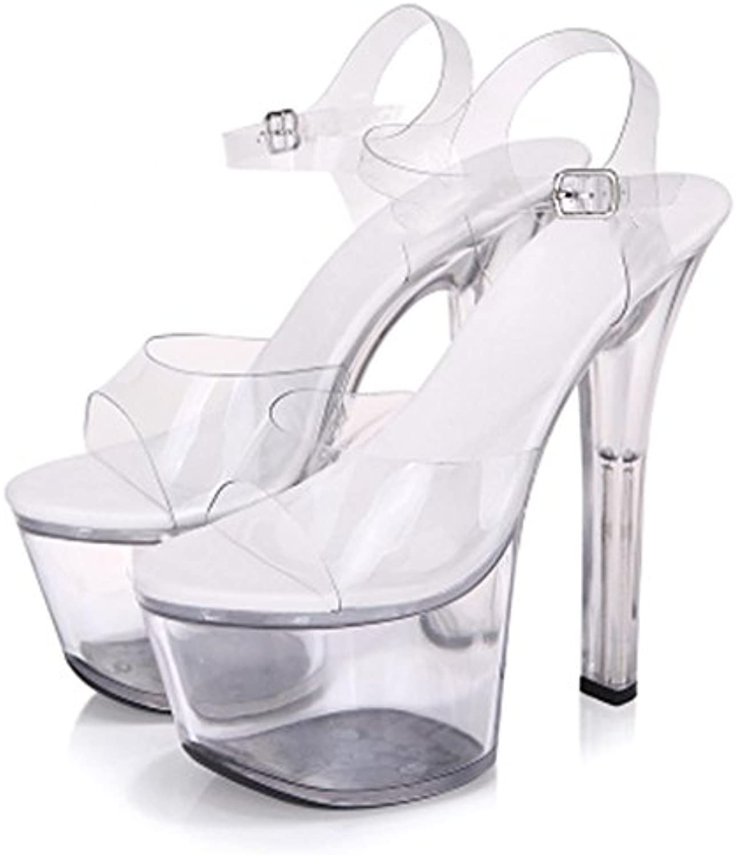 LLP Transparent Pantoufle  s s s Femme Talons Super-Haut Chaussures de ModèleB07CPCSN2VParent | L'apparence élégante  082add