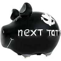 Sparschwein Next Tattoo KCG Spardose Kleinschwein schwarz Tätowieren