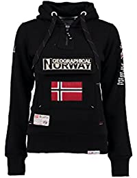 Geographical Norway - Sweat Femme Geographical Norway Gymclass Noir