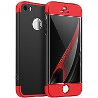 iPhone SE Hülle,iPhone 5S Schutzhülle,Urhause 360 Grad Hart PC Schutzhülle [Front + Back Rundum Double Protective... preisvergleich bei billige-tabletten.eu