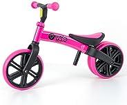Y-Volution Y Velo Junior Balance Bike, Pink, size 10