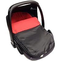 Saco para silla de bebé para coche, cómodo y acogedor, compatible con Maxi-Cosi, color rojo