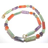 Exklusive Amethyst Karneol Grün Quarz-Halskette Kristall Fashion Wicca Schmuck Frauen Geschenk Positive Energie... preisvergleich bei billige-tabletten.eu