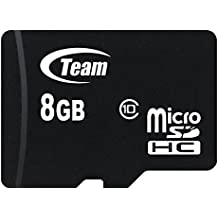 Team Group Micro SD 2 GB con adaptador SD tarjeta de memoria 8 GB Class 10