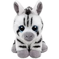 TY - Beanie Babies Stripes, peluche zebra, 15 cm (United Labels Ibérica 41198TY) - Peluches y Puzzles precios baratos