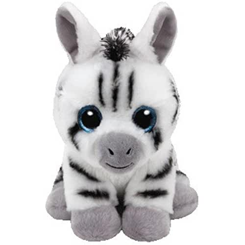 peluches TY - Beanie Babies Stripes, zebra, 15 cm (United Labels Ibérica 41198TY)