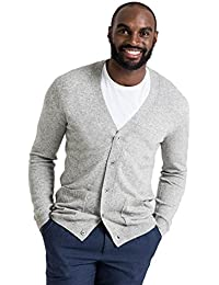 WoolOvers Cardigan à col V - Homme - Cachemire & Mérinos