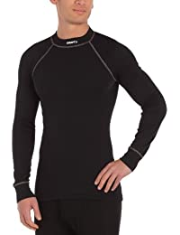 Craft Active - Camiseta térmica para hombre, color negro, talla XXL
