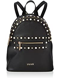 BORSA DONNA LIU JO ZAINO MOD. HONOLULU BACKPACK IN ECOPELLE COLORE NERO BS18LJ08