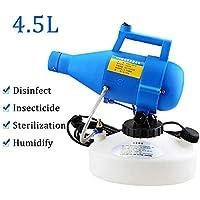 RIYIFER 440X400x240mm Pulverizador Eléctrico Portátil, 4.5L Nebulizador Frío ULV Flujo Ajustable Máquina De Niebla para Jardines, Fábricas, Escuelas