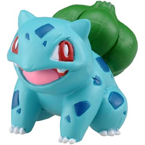 figuras kawaii Takaratomy Official Pokemon X and Y MC-002 ~ 1.25 Bulbasaur/Fushigidane Action Figure