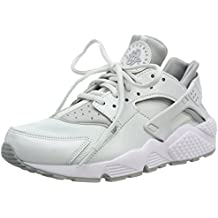 more photos 85330 5f467 Nike Damen Air Huarache Run Sneaker grauweiß, ...
