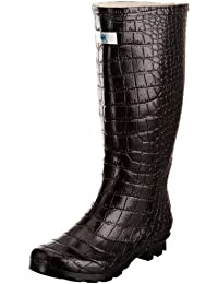 Splash by Wedge Welly Wide Miss Snappy, Bottes femme