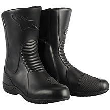Bota de moto impermeable Alpinestars Andes Waterproof, Hombre mujer, Alpinestars - Bottes Andes Wp Noir, negro