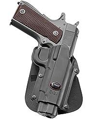 Fobus nouveau dissimulé pistolet report rétention étui Holster pour la plupart Colt 1911 pistolets de style sans rails / Browning Hi-Power, Mark III 4 & 5mm / FN High Power, FN Forty-Nine / Kahr MK9 étui de revolver étui polymère