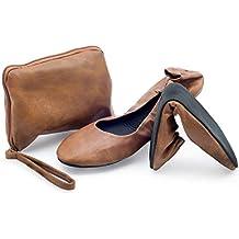 CatMotion Zapatos cómodos plegables en su bolso, Bailarinas para damas, Bombas para después de