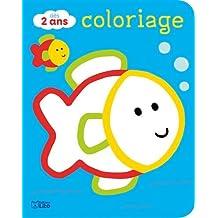 Coloriages pour les tout-petits: les animaux de la mer - Dès 2 ans