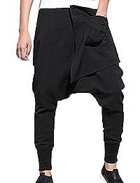 Pantaloni da Skateboard Skateboard da Uomo con Pantaloni Hip Hop 73dac5324800