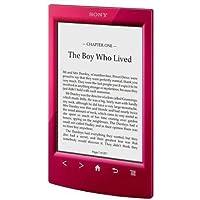 Sony PRS-T2–Lector de eBook–Rojo–libre incluye e-book de Harry Potter