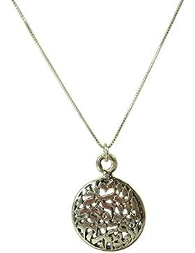 Shema Israel Sterling Silber Halskette und Anhänger - Unisex