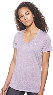 Under Armour Womens Tech Shorts Sleeve V Neck- Twist TEES AND T-SHIRTS
