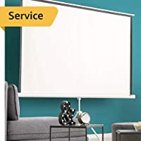 Projector Screen Installation - First Time - Pull Down