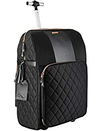 The Travel Hack Pro Cabin Case with Integrated Handbag Compartment 55 x 40 x 20 cm …