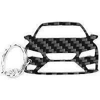 Seat Leon 5F FR ST SC Cupra R Carbono de Fibra Tuning Llavero cadena de clave