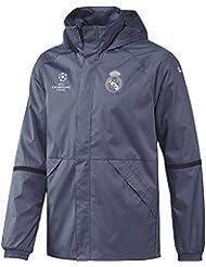 adidas Real Madrid C.F. EU ALLW JK - Chaqueta  para hombre, color morado, talla 3XL