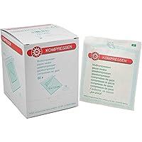 60x Noba Mullkompresse steril, Kompresse Verbandmull Mullauflage, 12-fach, 10x10cm preisvergleich bei billige-tabletten.eu
