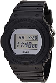 Casio Mens Quartz Watch, Digital Display and Resin Strap DW-5700BBMA-1DR