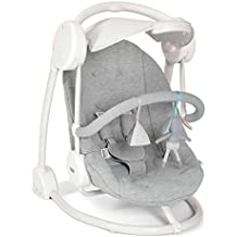 Mamas & papas Musical Starlite - Silla de columpio, diseño de melange, color gris