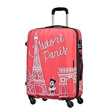 American Tourister Disney Legends Spinner M Valise Enfant, 65 cm, 62.5 L, Rose (Take Me Away Minnie Paris)