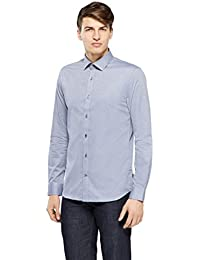 Matinique Langarmhemd, Herren, XLarge, Blau