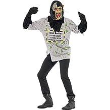Smiffy's - Disfraz de mono para hombre, talla L (24377L)