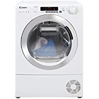 Candy GVS H9A2DCE Freestanding Heat Pump Tumble dryer, NFC Connected, 9Kg Load, White