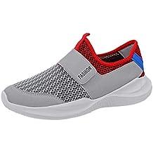Darringls_Zapatos de hombre,Zapatillas Deporte Hombre Zapatos para Correr Athletic Cordones Air Cushion Running Sports