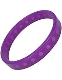 IONTOPIA® SUPER-PRIME SILICONE MAGNETIC THERAPY WATERPROOF SPORT BAND BRACELET-VIOLET