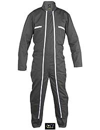 SOL'S - Combinaison de travail homme Workwear Double zip - 80901 - gris foncé (XXL)