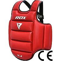 RDX MMA Boxeo Vientre Protección De Cuerpo Para Pecho Peto Taekwondo