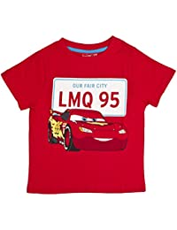 Disney Cars Boys Short Sleeve T-Shirt